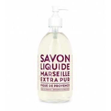 Savon liquide de Marseille 500ml - Figue de provence - Compagnie de Provence
