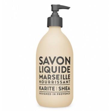 Savon liquide de Marseille 495ml - Karité - Compagnie de Provence