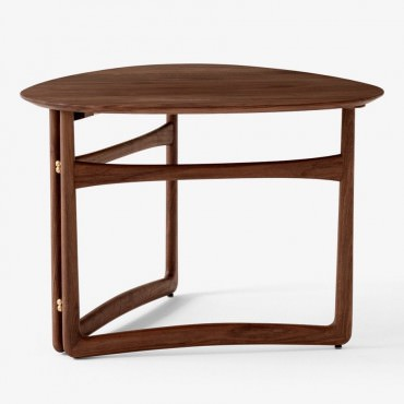 "Table basse pliante ""DROP LEAF"" en chêne - And Tradition"