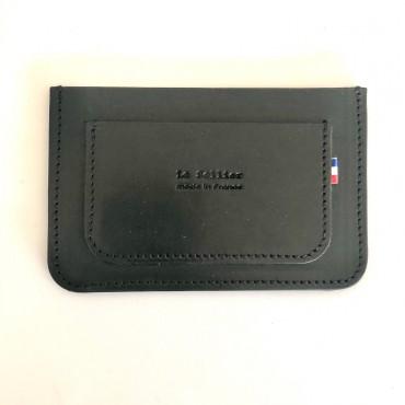 Porte-cartes CNI noir - Le Sellier
