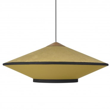 Suspension CYMBAL small velours bleu clair - Forestier