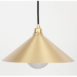 Suspension Cone Shade Brass (S) - FRAMA