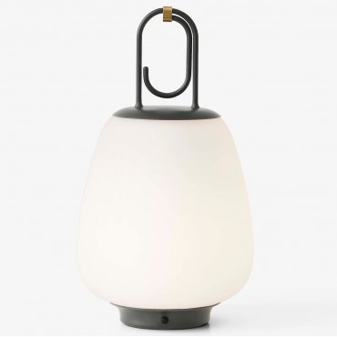 Lampe portable LUCCA noir Indoor / Outdoor - And Tradition