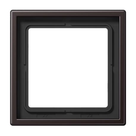 Plaque simple aluminium dark LS 990 / AL2981D - JUNG
