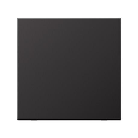 Enjoliveur simple touche aluminium dark LS 990 / AL2990D - JUNG