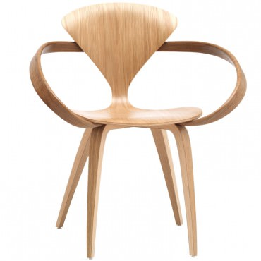 "Fauteuil ""Arm Chair"" Norman Cherner (Chêne Blanc) - Cherner Chair"