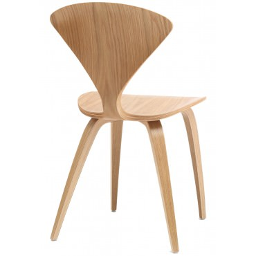 "Chaise ""Side Chair"" Norman Cherner (Chêne blanc - Natural White Oak) - Cherner Chair"