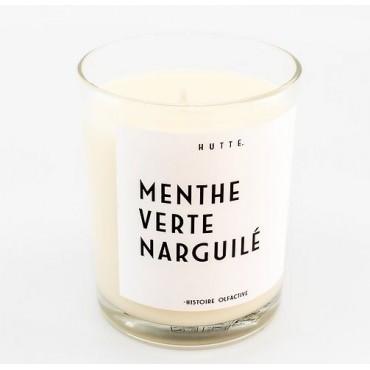 Bougie parfumée MENTHE VERTE NARGUILÉ 190g - HUTTE