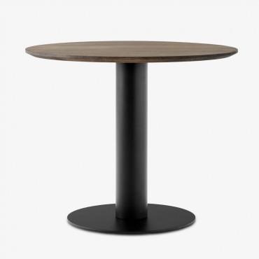 Table In Between SK11 / Ø 90 cm - Chêne fumé - &Tradition
