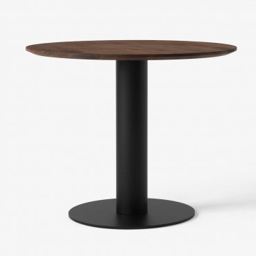 Table In Between SK12 / Ø 120 cm - Noyer - &Tradition