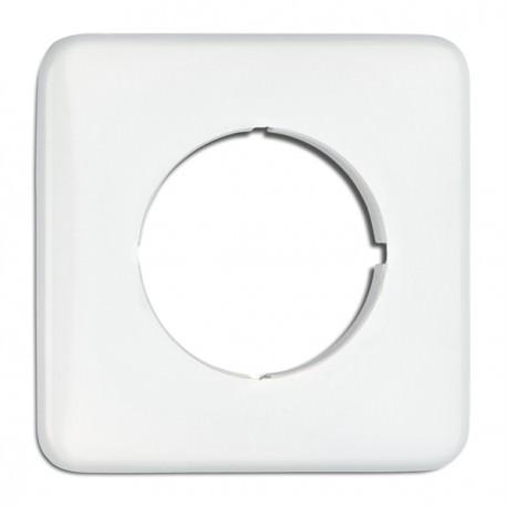 Cache simple carré pour Dimmer, prises téléphone, speaker, Data RJ45 en duroplast (encastrable) Ref. 119329 - THPG