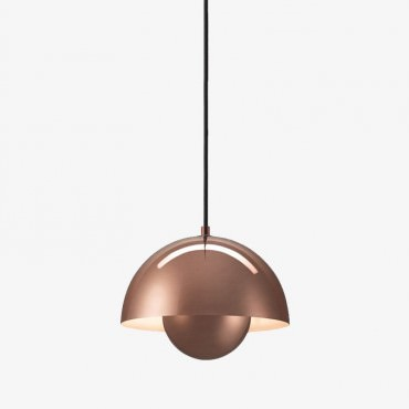 Suspension FlowerPot VP1 pendant lamp by Verner Panton