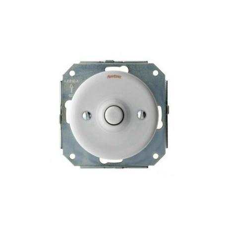Variateur Dimmer LED Garby Colonial en porcelaine blanche Encastrable (pose à encastrer) - FONTINI