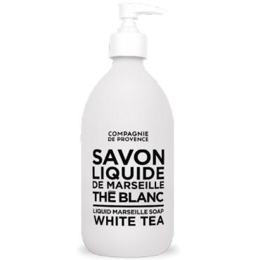 Savon liquide de Marseille 300ml - Thé Blanc - Compagnie de Provence