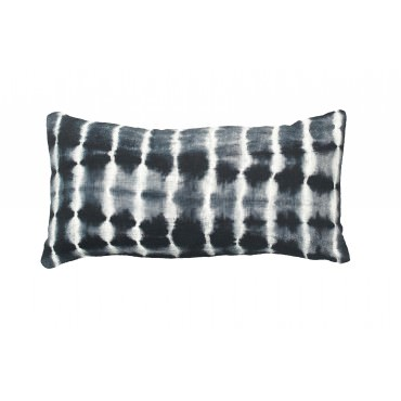 Coussin BALI 30*60 cm noir - Bed And Philosophy