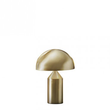Lampe ATOLLO small gold - Oluce