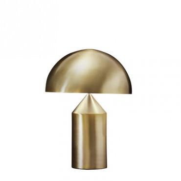 Lampe ATOLLO médium gold - Oluce