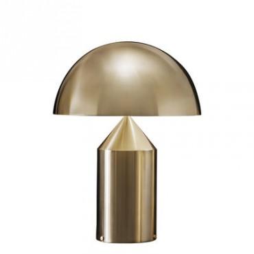 Lampe ATOLLO large gold - Oluce