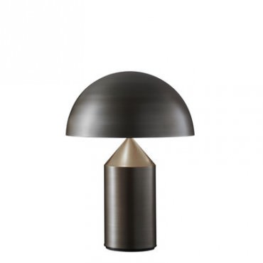 Lampe ATOLLO médium bronze - Oluce