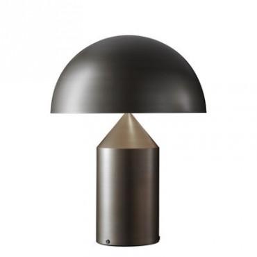 Lampe ATOLLO large bronze - Oluce