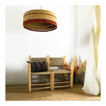 Suspension DEEPLY XL 65 cm Natural-Ginger - Golden Editions