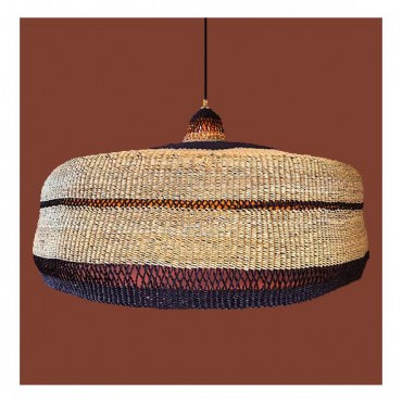 Suspension DEEPLY XL 65cm Natural-Midnight - Golden Editions