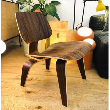LCW Chaise Eames originale Palisandre Rosewood Herman Miller