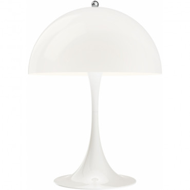 Lampe de table Panthella Mini Opal - Verner Panton - Louis Poulsen
