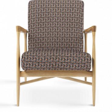 Fauteuil Floating  Tissu coton Indien - Red Edition