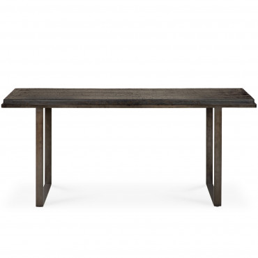 Console STABILITY terre d'ombre L.170 cm - Ethnicraft