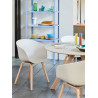 Chaise Fauteuil About A Chair AAC22 - Hee Welling by Hay