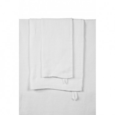 Serviette de bain JAVA en Nid d'abeille (plusieurs dimensions et coloris disponibles) - Harmony Textiles