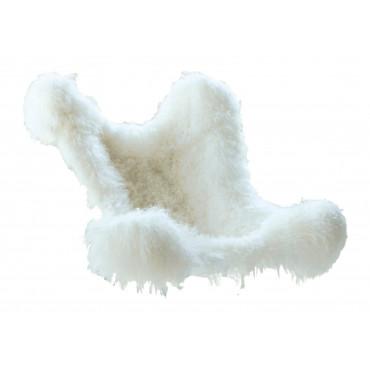 Housse indoor AA Butterfly en agneau du tibet blanc - AIRBORNE