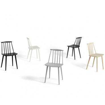 """Lot de 2 chaises """" J77"""" en hêtre (Plusieurs coloris disponibles) - Hay"""