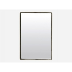 Miroir design REFLECTION en acier noir 30*20cm - House Doctor