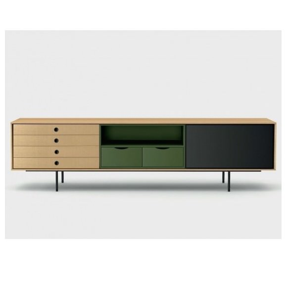 enfilade buffet meuble tv aura 196cm treku atelier 159. Black Bedroom Furniture Sets. Home Design Ideas