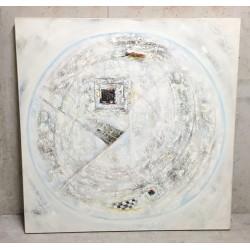 Huile sur toile 100 X 100 cm - Adi Candra