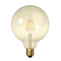 Ampoule Globe filaments LED XXL 125mm - Ambre - E27 5W 2200K DIMMABLE