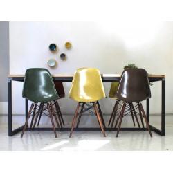 Table métal / chêne 22mm (c) - BAAZIC