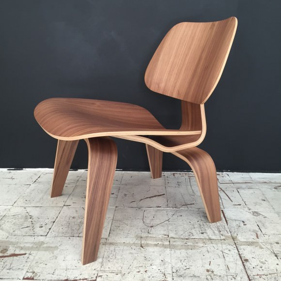 eames fauteuil LCW Chaise Eames originale Noyer Walnut Herman Miller