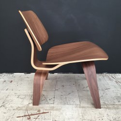 LCW Chaise Eames originale Noyer Walnut Herman Miller