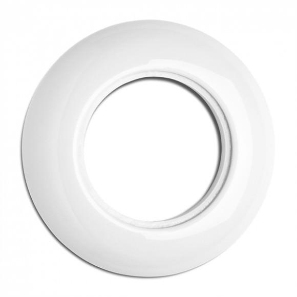 Cache simple en porcelaine rond (encastrable) - THPG