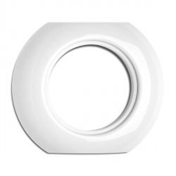 Cache central en porcelaine rond (encastrable) - THPG