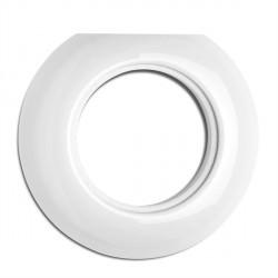 Cache externe en porcelaine rond (encastrable) - THPG