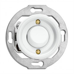Interrupteur Toggle switch en porcelaine rond vendu sans cache en (encastrable) - THPG