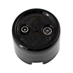Prise TV SAT Garby en porcelaine noire Externe (pose en saillie) Ref. 30 712 27 2 - FONTINI