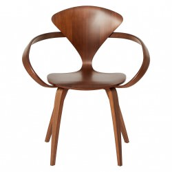 """Fauteuil """"Arm Chair"""" Norman Cherner (Noyer / Classic Walnut) - Cherner Chair"""