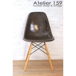 DSW Chaise Eames originale et vintage Brown Herman Miller