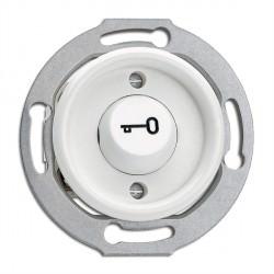 Bouton poussoir ouvre porte en duroplast vendu sans son cache (encastrable) - THPG