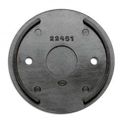 Base plate optionnelle pour pose prises et interrupteurs en bakélite Externes (pose en saillie) - THPG